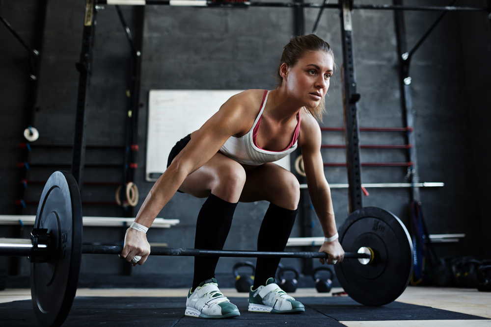 True Or False - lifting weights